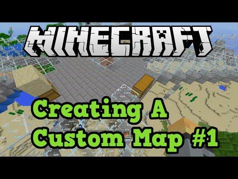 Minecraft Xbox (360 + One) How To Make Custom Maps #1