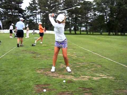 Sara Brown Swing 7 iron - FOA