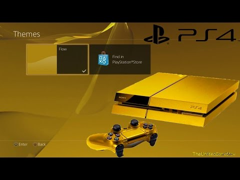 How to Change PS4 Theme PS4 Menu Interface Tips & Tricks
