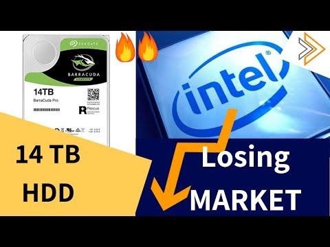 Intel losing Market to AMD and Seagate Launched 14 TB Hard Drives [in HINDI]