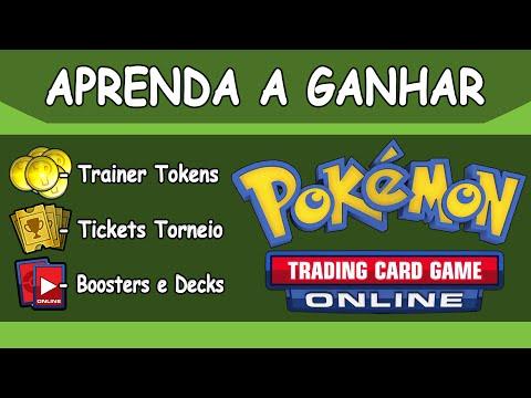 Pokemon TCG Online: Como ganhar Tokens, Booster e Decks! - 02/2016