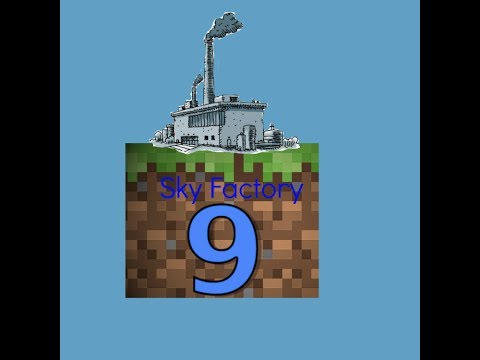 Minecraft Sky Factory Modded Sky Block EP9 'HOW TO GET A FORCE SAPLING'