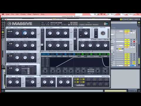 Whoop Synth in Massive (Tutorial)