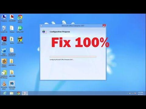How to fix Microsoft Office Configuration Progress Every time When it starts