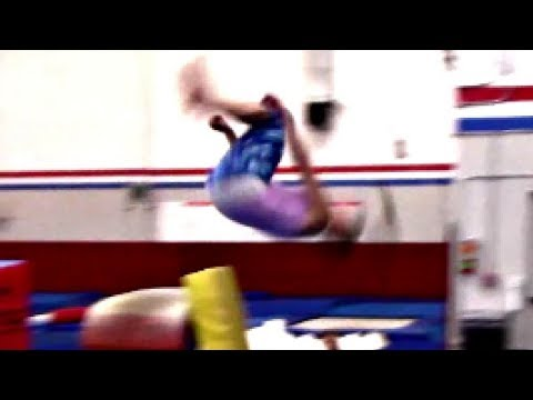 How To Do A Round Off Back Handspring Back Tuck With Coach Meggin!