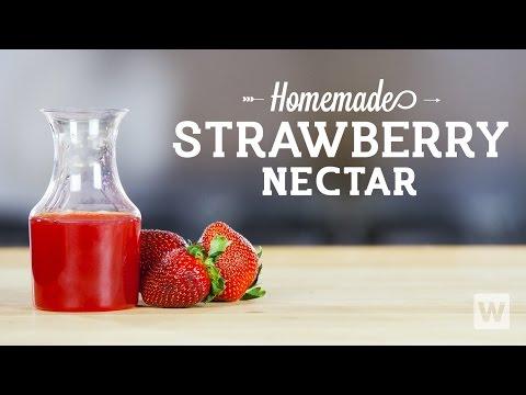 Homemade Strawberry Nectar Recipe