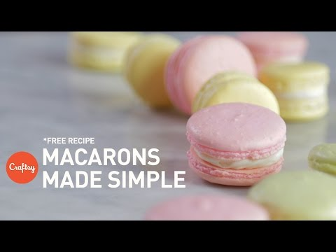 How to make macarons (with free recipe) | Baking Tutorial with Zoë François