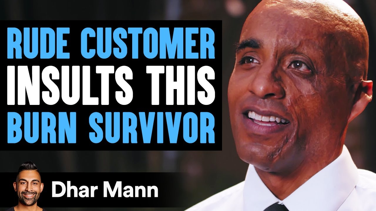 Customer Humiliates Burn Survivor, Then Instantly Regrets His Decision | Dhar Mann