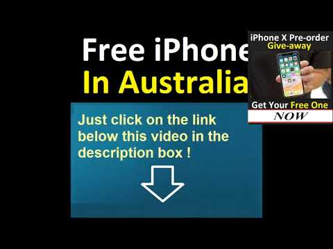 Iphone Australia adn The Best Way to Get Free One in Australia