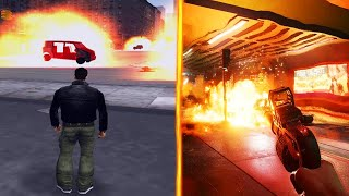 Evolution of the Explosion of Cars in Games 2000-2021