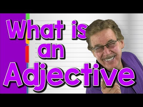 What is an Adjective | Parts of Speech Song for Kids | Jack Hartmann