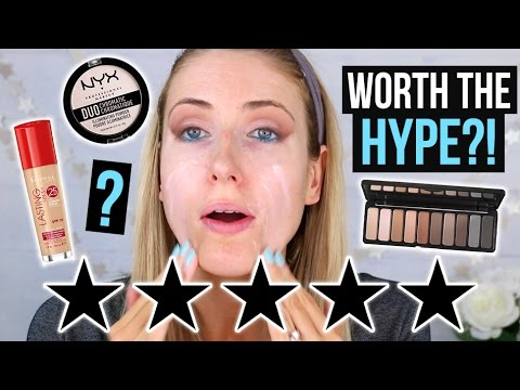 FULL FACE Testing 5 STAR RATED Makeup: DRUGSTORE Edition! || What Worked & What DIDN'T
