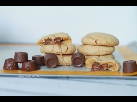 Peanut Butter Rolo Cookies recipe