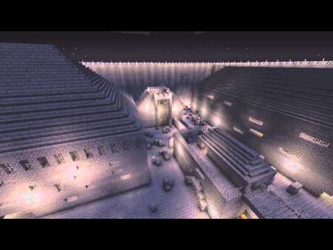 Minecraft Xbox 360 - Hunger Games Breakout - Custom Map (w/Download)