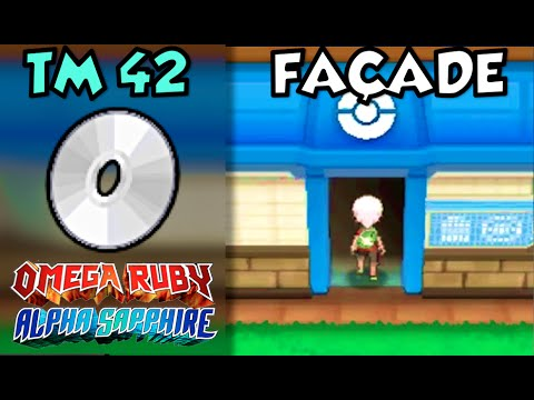 Where/How to Find TM 42: Façade (Facade) | Pokemon Omega Ruby and Alpha Sapphire