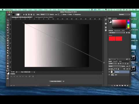 Photoshop CC Tools - Paint Bucket and Gradients
