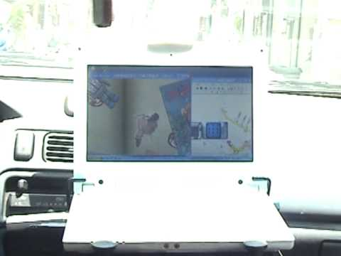 CAR LAPTOP High quality panel in the strong sunlight,  Crossing the bumpy no lag playing