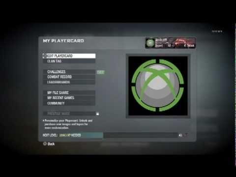 Black Ops Emblem Editor Tutorial - Xbox logo