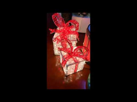 3D LED Gift Box Ι Dekra-Lite Industries, Inc.