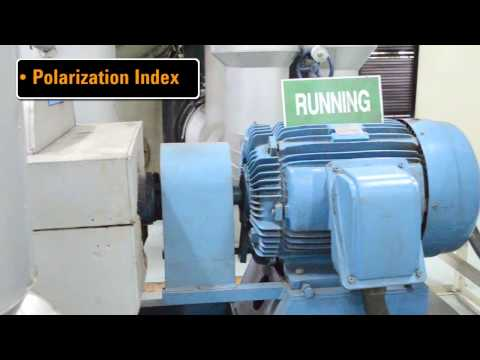 Motor Windings Insulation Resistance Test Demo (Part 1)