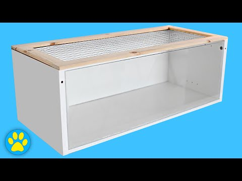 DIY Hamster Cage | Ikea Billy Cage (Read Description Below Before Building)