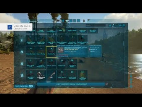ARK: Survival Evolved making some tranq arrows