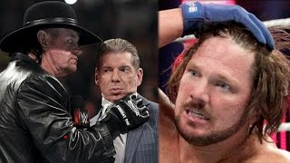 3 Reasons Why WWE Cancelled The Undertaker vs AJ Styles at the Royal Rumble