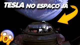 SpaceX ENVIA CARRO TESLA para o ESPAÇO / Falcon Heavy Test Flight