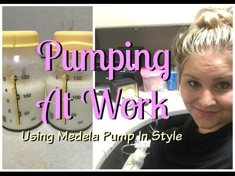 Pumping at Work Using Medela Pump In Style