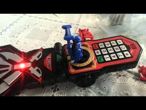 Power Rangers Super Megaforce Morpher How to make Secret Sounds