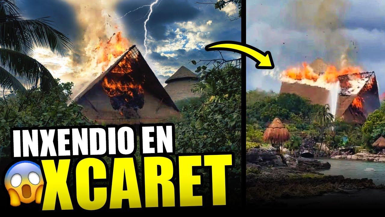 Incendio en Xcaret inquieta a los visitantes, echan para atrás importante decisión en La Paz