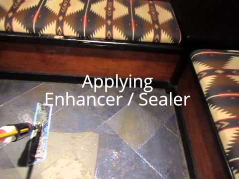 How to clean and seal slate flooring