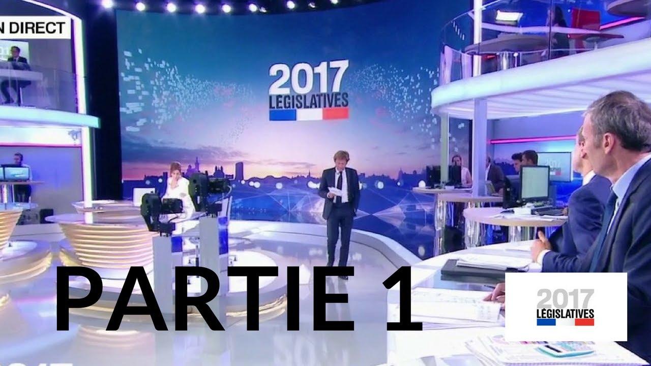Second tour des élections législatives – 18 juin 2017 (France 2) – Partie 1