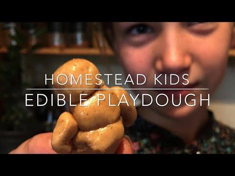 Edible PLAYDOUGH (gluten free!!)