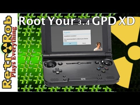 Root The GPD XD And Get Rid of Hard to Delete Apps