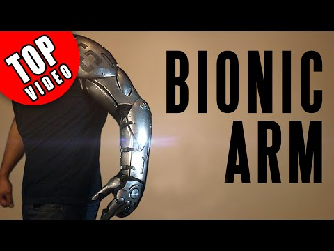Watch this Guy build a Bionic Arm