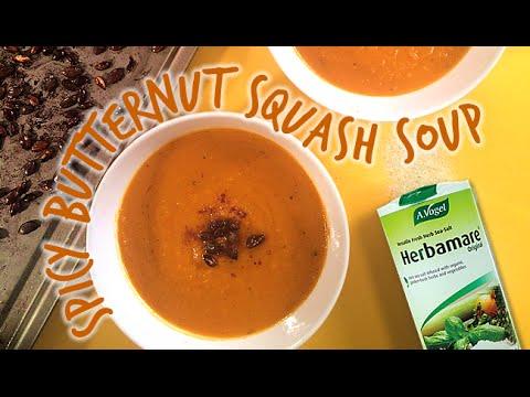 Spicy Butternet & Squash Soup