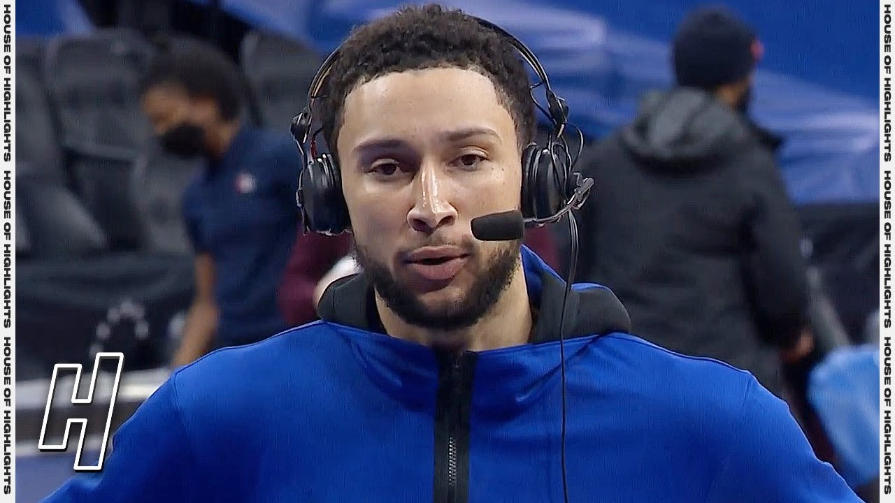 Ben Simmons Says He is the Best Defensive Player in the League - Mavericks vs 76ers   Feb 25, 2021