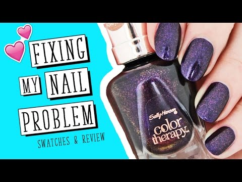 The Polish That FIXED My Nail Problem! | Sally Hansen Color Therapy | Nailed It NZ