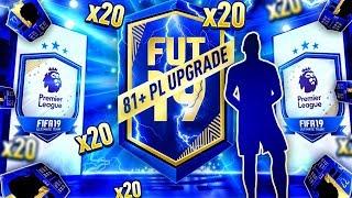 20x 81+ PREMIUM EPL UPGRADE PACKS! WE PACK BLUES! FIFA 19 Ultimate Team