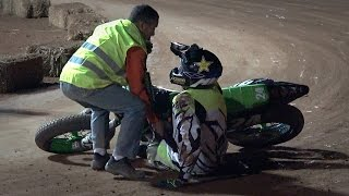 Superfinal Open/Promo (Crashes/Falls) - V Dirt Track Castellnou de Seana 2015(UHD/4K)