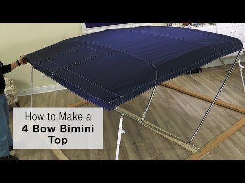 How to Make a 4 Bow Bimini Top