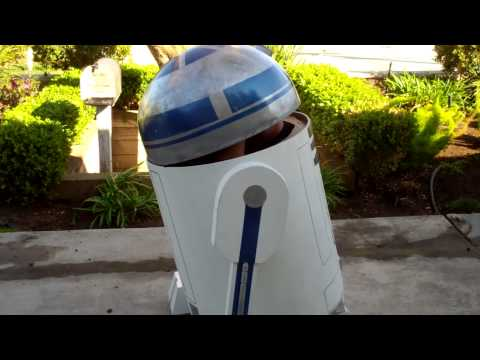 Drivable R2D2, Star Wars Halloween costume