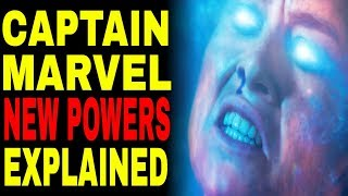 Captain Marvel NEW POWERS Explained