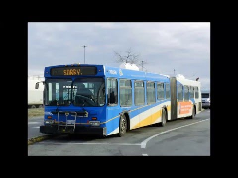 Translink/CMBC D60LF R8066 on route 620 'Tsawwassen Ferry'