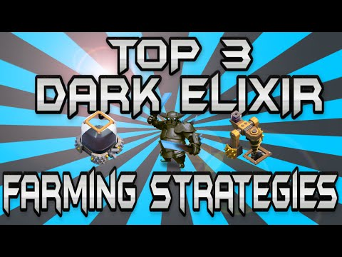 HOW TO GET DARK ELIXIR FAST AT TH7 AND TH8!!!!!!
