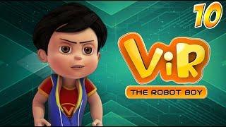 Vir: The Robot Boy   Hindi Cartoon Series For Kids   The Giant Spider   Action Cartoons   Wow Kidz