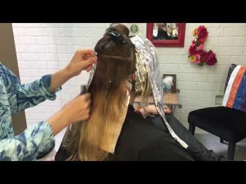 Balayage Retouch || Hair Tutorial