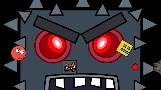Download Geometry Dash vs Red Ball Animation - The End