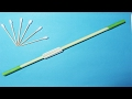Ultimate paper blowgun - Ninja weapon- Easy paper gun